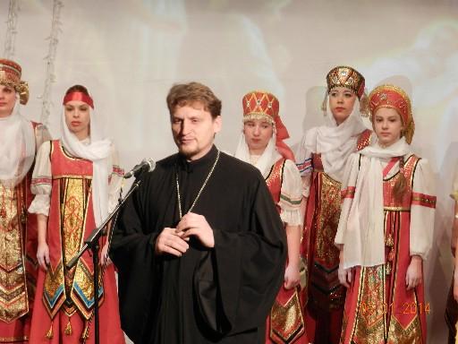 Рождественские встречи со священнослужителем храма Александра Невского